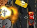 Wściekły kierowca ciężarówki