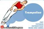 Skakanie  na trampolinie gra