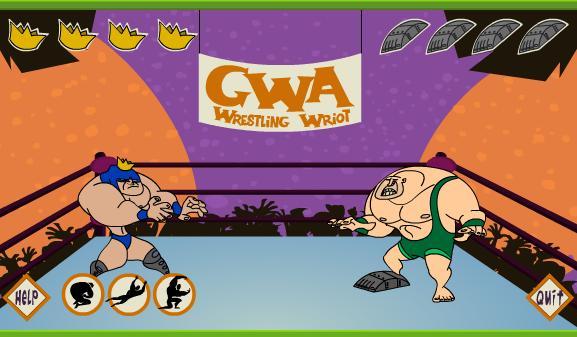 Wrestling gra