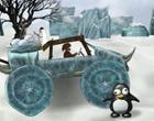 Jeżdżenie samochodem po lodzie