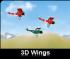 Latanie samolotem 3D