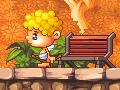 Gra platformowa z amorkiem