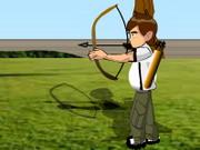 Strzelanie z łuku w balony