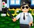 Policja klocki lego