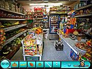 Znajdz ukryte obiekty w supermarkecie