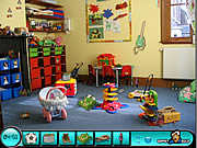 Ukryte obiekty w pokoju dziecinnym