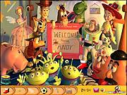 Ukryte obiekty Toy Story