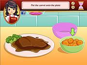 Smażenie mięsa  online