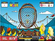 Homer Simpsons na motorze