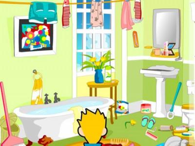 Ukryte obiekty w łazience
