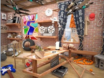 ukryte obiekty w garażu