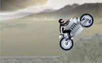 Jazda motorem po  górach
