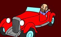 kolorowanie samochodu online gra