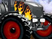 kierowca traktora gry